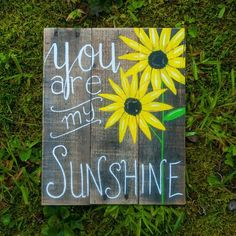 You are my sunshine Sunflower decor Gifts for friend Best friend gifts Summer wall art Summer decor Summer wall hanging New spring decor
