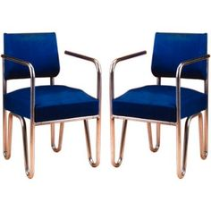 Early Pair of Chairs by Andre