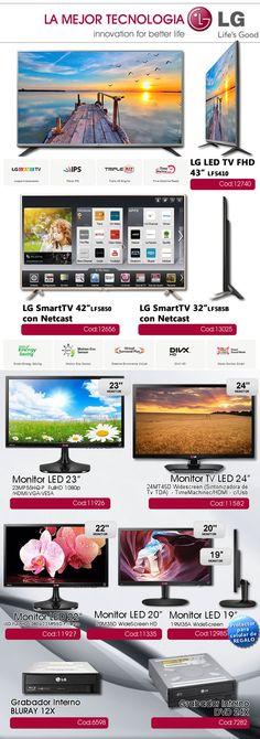 @gvinformaticaAR - #Olivos_VL  La mejor #tecnología con #LG #SmartTV #Monitor #Led  www.gvinformatica.com.ar