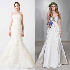 The Best Size of Vera Wang Wedding Dresses for Your Body Type Check more image at http://bybrilliant.com/50/vera-wang-wedding-dresses