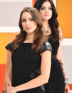 #TeamSparia Troian Bellisario & Lucy Hale