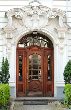 Berlin, Germany-Beautiful White Marble Door Surrounds! We can carve! Contact…