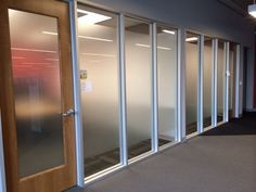 3M Oslo decorative window film used for privacy and to add visual interest