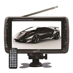 SuperSonic Portable Widescreen LCD Display with Digital TV Tuner, USB/SD New