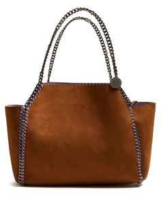 Click here to buy Stella McCartney Falabella reversible faux-suede tote at MATCHESFASHION.COM