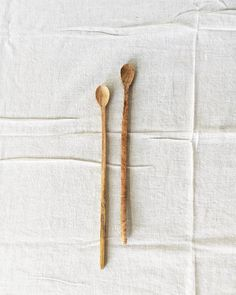 Fog Linen Wood Stirring Spoon from Orn Hansen #ornhansen
