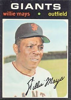 600 - Willie Mays - San Francisco Giants