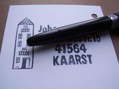 Stempel Adresse personalisiert