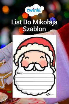 Ho, ho, ho! Święta już za pasem, trzeba wysyłać listy do Mikołaja! Ten ślicznie ilustrowany szablon jest idealny na te długie listy, jak i te krótkie - doskonały na świąteczne zajęcia polskiego! #list #domikołaja #listdomikolaja #szablon #mikolaj #mikołaj #listdomikołaja #zadanie #polski #zima #święta #swieta #ćwiczenie #cwiczenie #adwent #bozenarodzenie #grudzien #grudzień #twinkl Fictional Characters, Fantasy Characters