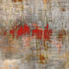 "Dave Tilton, Spilt Cherry Road, 2011, Edition of 6 Pigment Ink on Canvas, 38"" x 38"""