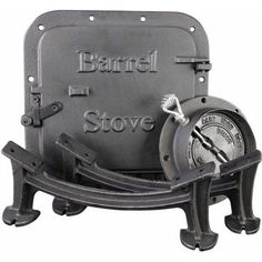 Barrel Stove Kit, As Shown