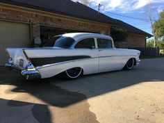 1957 Chevy Hot Rod Trucks, Cool Trucks, Chevy Trucks, Cool Cars, 1957 Chevy Bel Air, 1957 Chevrolet, Old American Cars, Classic Mustang, Hot Rides