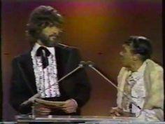 Moms Mabley & Kris Kristofferson presenting award U.S. TV 1974