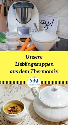 8 Suppen und Eintopf Rezepte aus dem Thermomix® Soups from the Thermomix, recipes for soups, favorite soups recipes stew soup # leek cream soup # Thermomix Soup, A Food, Food And Drink, Mug Recipes, Cream Recipes, Dessert Recipes, Rich In Protein, One Pot Meals, Vegetable Dishes