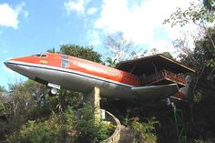 Old Airplane Converted To Home