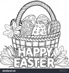 Free Easter Colouring Pages | Pinterest | Easter colouring, Happy ...