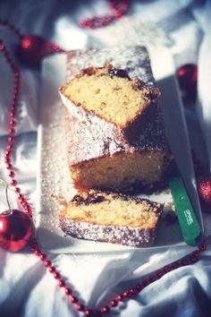 Un goûter de Noël : Cake au cranberries