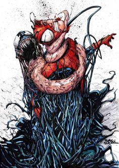 Spider-Man vs Venom - Babisu Kourtis