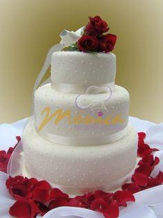 TORTAS MÓNICA :: Especialistas en Tortas Wedding Bells, Wedding Cakes, Muffins, Cup Cakes, Sweet, Desserts, Recipes, Wedding Ideas, Weddings