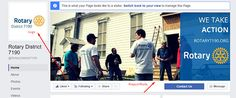 7 steps to Increasing your #Rotary club's #Facebook presence.  #ROSNF #SocialMedia