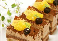 Matcha Chocolate Adzuki Mont Blanc Shortcake Recipe by cookpad. Chocolate Cream, Melting Chocolate, Chocolate Lovers, Chocolate Cake, Orange Sponge Cake, Shortcake Recipe, Vegetarian Cake, Orange Recipes, Strawberry Recipes