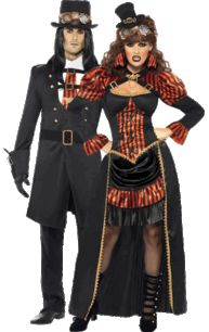 Steampunk Vampires Couples Costumes