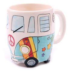 Hippie VW-Bulli Tassse