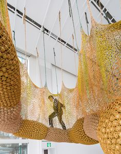 "Ernesto Neto | ""TorusMacroCopula"" 