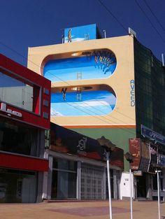Mehdi Ghadyanloo «arte callejero que altera las perspectivas de la calle»