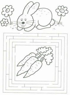 Preschool Learning Activities, Easter Activities, Preschool Worksheets, Easter Art, Easter Crafts, Coloring For Kids, Coloring Pages, Diy For Kids, Crafts For Kids