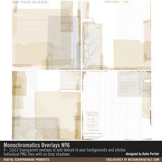 Monochromatics Overlays No. 06
