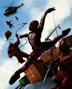 #Deadpool #Fan #Art. (Deadpool) By: DavidDeMendoza. ÅWESOMENESS!!!™ ÅÅÅ+