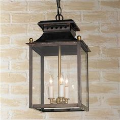 3 Light Federal Hanging Lantern if the bolton ones are too big.  These are from Shadesoflight.com