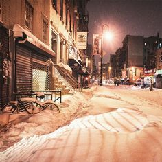 Photographer Captures An Empty New York City During The Snowpocalypse