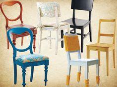 Alte Stühle im neuen Look: Vergleich