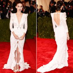 Rooney Mara on Met Gala 2013 Red Carpet | POPSUGAR Fashion