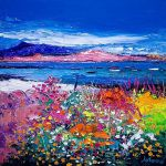 Front Gardens and the Moorings, Iona art print