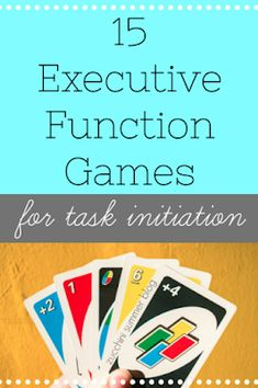 Special education teachers, look no further! Games to boost executive functioning skills! Study Skills, Coping Skills, Life Skills, Cognitive Activities, Speech Therapy Activities, Play Therapy, Art Therapy, Auditory Processing Activities, Social Skills Activities