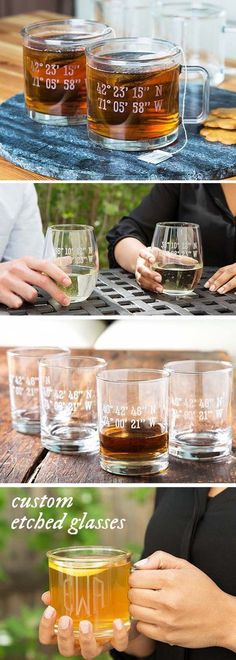 Susquehanna Glass Company's set of 2 monogrammed stemless wine glasses are classic and timeless. Hand-cut, personalized letters, and made in the USA. Listerine Foot Soak, Latitude And Longitude Coordinates, Personalized Wine Glasses, Stemless Wine Glasses, Champagne Glasses, Vape Tricks, Glass Company, Glass Etching, Etched Glass