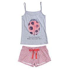 Womensecret. Pijamas Pijama corto de algodón