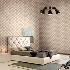ταπετσαρια τοιχου ρομβοι 88203 - Ταπετσαρίες τοίχου Bed, Furniture, Home Decor, Decoration Home, Stream Bed, Room Decor, Home Furnishings, Beds, Home Interior Design