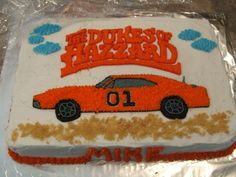 Dukes Of Hazzard Birthday Cakes