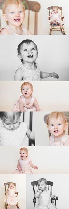One Year Old Milestone Session | Erin Blair Photography | Minneapolis Area Photographer