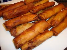 There are sooo many Asian version of spring rolls and I really like the Filipino version. What a surprise. I tweaked my mom's recipe and I'm...