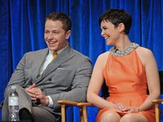 Ginnifer Goodwin (Mary Margaret/ Snow White) and Josh Dallas (David Nolan/ Prince Charming) at event of Once Upon a Time - March 6, 2013.