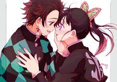 Kimetsu no yaiba ( demon slayer ) Manga Anime, Fanarts Anime, Anime Demon, Manga Art, Anime Art, Demon Slayer, Slayer Anime, Familia Anime, Demon Hunter