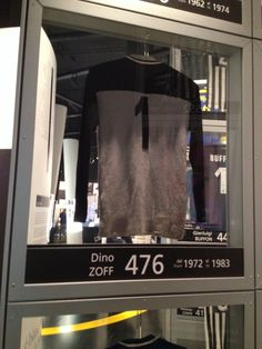 Juventus Museum-Maglia di Dino Zoff Juventus Stadium, Juventus Fc
