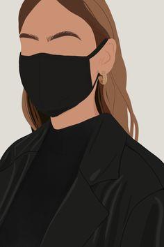 Illustration Inspiration, Illustration Mode, Portrait Illustration, Abstract Face Art, Diy Canvas Art, Aesthetic Art, Cartoon Art, Art Girl, Fashion Art