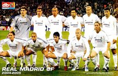 REAL MADRID contra Bayer Leverkusen 23/11/2004