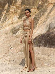 Desert Fashion, Look Fashion, High Fashion, Fashion Tips, 40s Fashion, Hipster Fashion, Korean Fashion, Sexy Dresses, Fashion Dresses